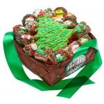 18 pc Christmas Gift Basket
