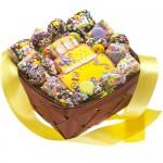 19 Piece Birthday Gift Basket