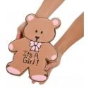 Giant New Baby Bear Sugar Shortbread Cookie