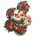 Belgian Chocolate Dipped Oreos®-Candy Cane Edition- Individualy Wrapped