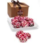 Belgian Chocolate Heart Sprinkles Oreos®- Gourmet Gift Box
