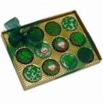 Belgian Chocolate St. Patrick's Day Oreos®- Gold Box of 12