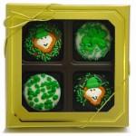 Belgian Chocolate St. Patrick's Day Oreos®- Gold Box of 4