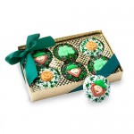 Belgian Chocolate St. Patrick's Day Oreos®- Gold Box of 6