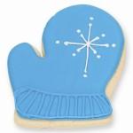 Blue Mitten Cookie Favor