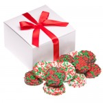 Box of 12 Holly Berry Oreos