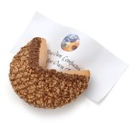 Caramel Toffee Chocolate Baby Giant Fortune Cookie