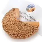 Caramel Toffee Giant Fortune Cookie