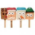Christmas Crispy Characters- 4 pc ASSORTED