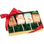 Christmas Crispy Characters- Gift Box of 4