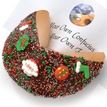 Christmas Giant Fortune Cookie