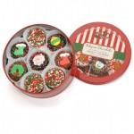Christmas Tin of 16 Chocolate Dipped & Decorated Oreos®
