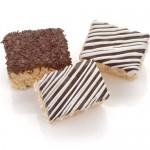 Classic Belgian Chocolate Mini Crispy Rice Bars