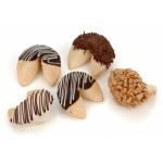 """Classic Hand-Dipped Gourmet Fortune Cookies- INDIVIDUALLY WRAPPED """"BULK"""""""