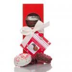 Elegant Red Gift Box of 10