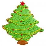 Full Christmas Tree Cookie Favor