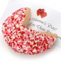 Heart Sprinkles Super Giant Fortune Cookie
