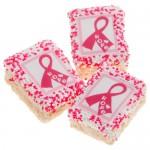 Pink Ribbon Mini Krispies