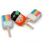 St. Patrick's Day Crispy Rice Bars- Individual Bars