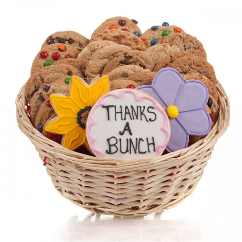 Thanks a bunch cookie gift basket