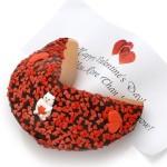 Valentine Decorated Super Giant Fortune Cookie