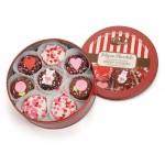 Valentine Tin of 16 Belgian Chocolate Dipped & Decorated Oreos®