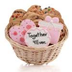 Wedding Cookie Gift Basket