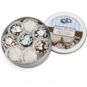 Winter Edition Tin of 16 Chocolate Dipped & Decorated Oreos®