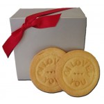 I Love You Stamped Cookie Gift Box
