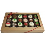 Mini Oreo® Cookies - Holiday Designs, Gift box of 24