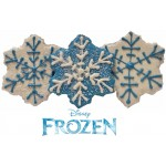 Snowflake Cookies - Frozen Party Theme, each