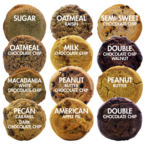 Cookie Sampler Pack - Individually Wrapped