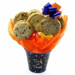 Halloween Gift Planter Cookie Bouquet - 6 or 12 Gourmet Cookies