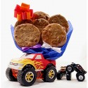 Monster Truck Cookie Bouquet - 6 or 12 Gourmet Cookies